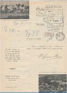 RICEVUTA L.10 1937 PRO ORFANI DI PADRE SEMERIA E PADRE MINOZZI (D43 - Italie