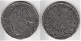 FAUSSE D´EPOQUE **** 5 FRANCS 1833 W LILLE LOUIS PHILIPPE **** EN ACHAT IMMEDIAT - France