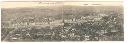 Liège - Panorama - Carte Double - 1914 - Luik