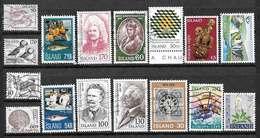 ISLANDE Lot De Timbres Oblitérés - Collections, Lots & Séries