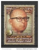 Peru (2011) Yv. 1896  /  Javier Pulgar Vidal