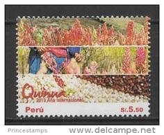 Peru (2013) - Set -   /  Quinoa - Cereal - Food - International Year Of Quinua