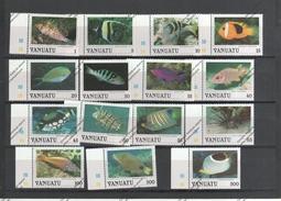 VANUATU Nº 769 AL 783 - Fishes