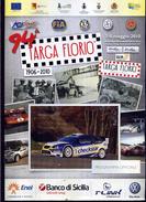 X Numero Unico 96 TARGA FLORIO 2012 IRC RALLY CHALLENGE IRCSERIES EVENTS - Motori