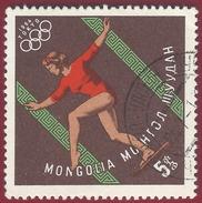 1964 - Olympic Game Tokio - Gymnast - Yt:MN 313 - Used