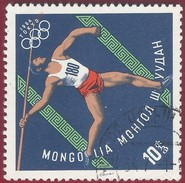 1964 - Olympic Game Tokio - Spear-thrower - Yt:MN 314 - Used