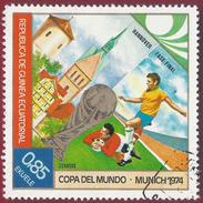 1974 - Copa Del Mundo - Munich 1974 -  Yt:GQ 42-C - Used - Äquatorial-Guinea