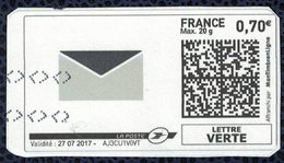 France Vignette Oblitérée Used Mon Timbre En Ligne Enveloppe