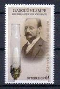 Österreich 'Gasglühlampe, Carl Auer Von Welsbach' / Austria 'Gas Light, Carl Auer Von Welsbach' **/MNH 2012