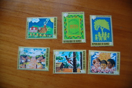 Guinea   1979 IYC International Year Of The Child, Set MNH