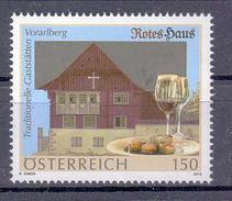 Österreich 'Gaststätte Rotes Haus, Wein' / Austria 'Red House Inn, Wine' **/MNH 2015