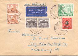 Berlin Mi. 61 Pp Auf Luftpost-Brief Gest. - Ansehen!!