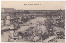 (29) 121, Brest, GB, Le Port De Guerre, Voyagée Sous Pli, TB - Brest