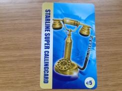 Starline Super   5€  Old Phone  - Little Printed  -   Used Condition - Deutschland
