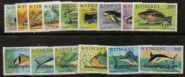 ST.VINCENT SG606/20 1979 INDEPENDENCE MNH