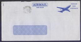 AUSTRALIA Postal History Cover POSTAGE PAID, Used 2001