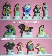 FEVES MULAN AFF99p25 DISNEY SERIE COMPLETE - Disney