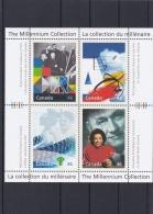 Canada Souvenir Sheet The Milennium Collection MNH/** (H25)