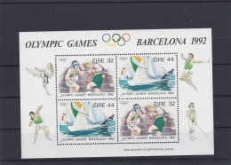 Ireland 1992 Olympic Station Barcelona Souvenir Sheet MNH/** (H25) - Summer 1992: Barcelona