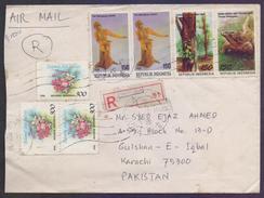 INDONESIA Registered Postal History Cover, Used - Indonesien