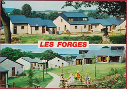 Grand Format Nassogne Les Forges 1987 Luxemburg Luxembourg Grote Kaart Nels - Nassogne