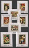 MANAMA - MNH - Art - Painting - Nudes - Roman Mythology Paintings - Imperf. - Deluxe
