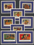 MANAMA - MNH - Art - Painting - Nudes - Gauguin - Imperf. - Deluxe