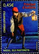 Spanish Andorra - 2016 - Christmas - Mint Stamp