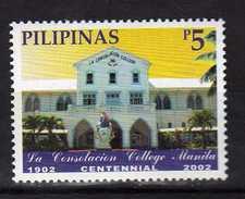 Philippines 2002 The 100th Anniversary Of La Consolacion College, Manila.MNH - Philippines