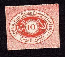 Austria, Scott #Unlisted, Mint Hinged, Erste Donau-Dampfschiffahrts-Gesellschaft, DDSG, Issued - Austria