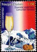 Spanish Andorra - 2016 - Andorran Diversity - French Community - Mint Stamp