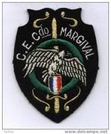 """Ecusson Tissu Brodé """"CENTRE ENTRAINEMENT COMMANDO MARGIVAL"""" Militaire - Patches"""