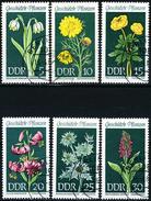 DDR - Michel 1456 / 1461 - OO Gestempelt (A) - Heimische Pflanzen