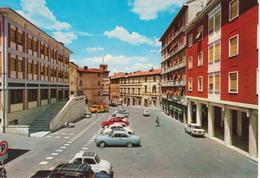 FABRIANO Corso Della Repubblica E Palazzo Delle Poste Auto Car Voiture Fiat 500 Lambretta Innocenti - Italie