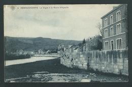 Remouchamps - La Digue à La Route D´Aywaille.  SBP N°4.