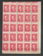 ALBANIE   1925   N°   169   PIQUAGE  A  CHEVAL   N**