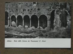 AIDONE - RESTI DELLA CERTOSA DEI FRANCESCANI-S.ANNA  -   - BELLA - Italia