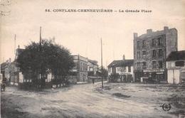 94 - Conflans-Chennevières - La Grande Place - France