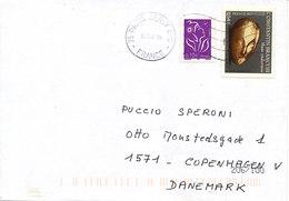 France Cover Sent To Denmark 19-2-2007 - France