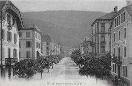FLEURIER → Avenue De La Gare Mit Buffet De La Gare, Ca.1910 - NE Neuenburg