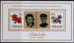 A0967  AITUTAKI 1973,  Wedding Of Princess Anne,   MNH - Aitutaki