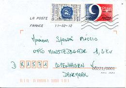 France Cover Sent To Denmark 11-2-2012 - France