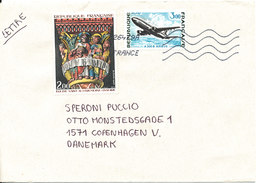 France Cover Sent To Denmark 14-6-2011 (the Cover Is Light Bended In The Right Side) - France