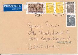 France Cover Sent To Denmark 11-5-2011 - Frankrijk