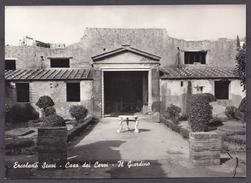 ITALY , ERCOLANO SCAVI ,  OLD  POSTCARD - Ercolano