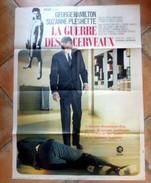 Affiche Cinéma Originale - La GUERRE Des CERVEAUX De BYRON HASKIN - G.HAMILTON, S. PLESHETTE - Plakate & Poster
