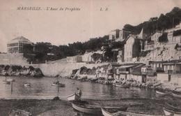 CPA MARSEILLE - 1915 - L'Anse Du Prophète (Ecrite Par Un Sergent 119e Territorial 13 Compagnie Eyguières) - Endoume, Roucas, Corniche, Beaches