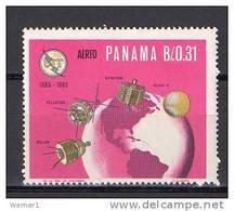 Panama 1966 Space ITU Stamp MNH