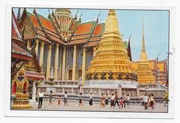 THAILANDE - BANGKOK - WAT ARUN - INSIDE THE EMERALD BUDDAH TEMPLE - CPM GF VOYAGEE - Thailand