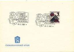 L3266 - Czechoslovakia (1981) Pezinok: Regional Stamp Exhibition Young Philatelists